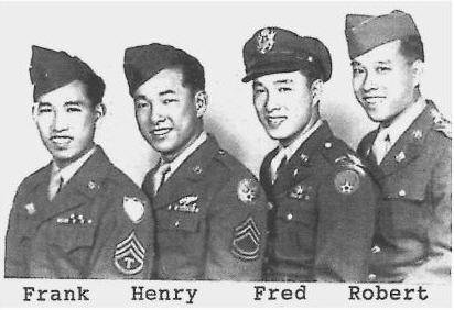 Asian american war military